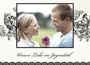 Fotobuch unsere Liebe Jugendstil