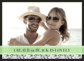 Fotobuch Urlaub Black is lovely