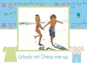 Fotobuch Urlaub Dress me up
