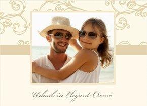 Fotobuch Urlaub Elegant Creme