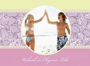 Fotobuch Urlaub Elegant Lila