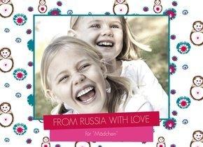 Fotobuch Russia für Mädchen