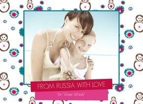 Fotobuch Urlaub Russia with Love