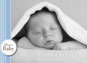 Fotobuch als Kindertagebuch Baby Boy