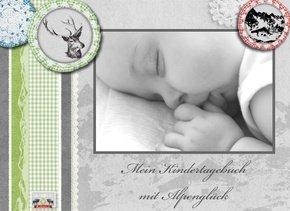 Fotobuch als Kindertagebuch Alpenglück