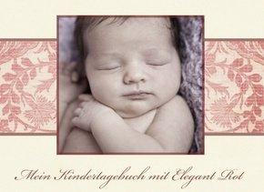 Fotobuch als Kindertagebuch Elegant Rot