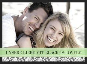 Fotobuch unsere Liebe Black is lovely