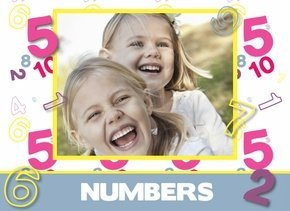 Fotobuch Mädchen Numbers