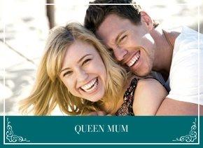 Fotobuch Queen Mum Türkis 1