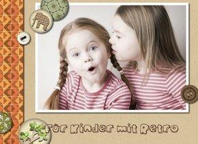 Fotobuch für Kinder Retro