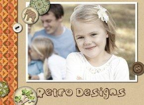 Fotobuch Retro Designs mit Retro