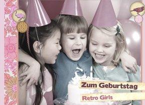 Fotobuch zum Geburtstag RetroGirls