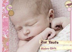 Fotobuch zur Taufe RetroGirls