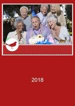 Fotokalender Rubinrot 2