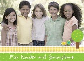 Fotobuch für Kinder Springtime