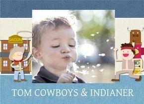 Fotobuch Verspielte Designs Tom Cowboys & Indianer