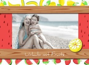 Fotobuch Urlaub Fruits