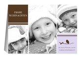 Weihnachtskarte Liliane