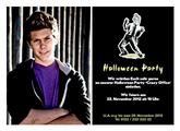 Einladungskarte Halloween