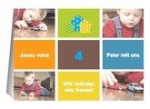 Kindergeburtstag Colorful Squares