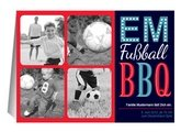 Einladung EM Party Fußball