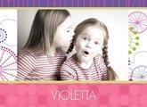Fotobuch Mädchen Violetta