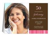 Einladung 50. Geburtstag Chica