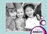 Fotobuch zum Geburtstag Bubbles