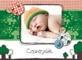 Babys mit Countryside
