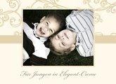 Fotobuch Jungen Elegant Creme