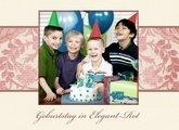 Fotobuch Geburtstag Elegant Rot