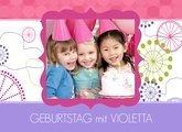 Fotobuch Geburtstag Violetta