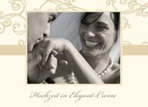 Fotobuch zur Hochzeit Elegant Creme