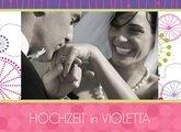 Fotobuch zur Hochzeit Violetta