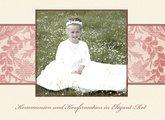 Fotobuch Kommunion und Konfirmation Elegant Rot