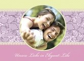 Fotobuch unsere Liebe Elegant Lila