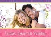 Fotobuch unsere Liebe Violetta