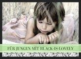 Fotobuch Jungen Black is lovely