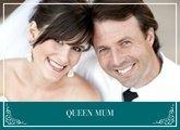 Fotobuch zur Hochzeit mit Queen Mum Türkis