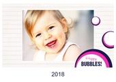 Fotokalender Bubbles Quer