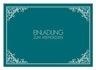 einladungskarte zum essen leonore, Einladung