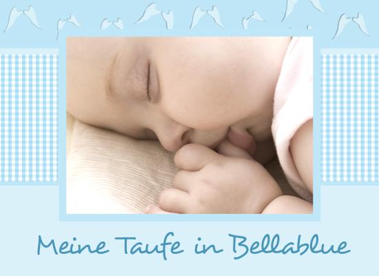 Fotobuch Zur Taufe Bellablue