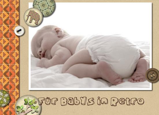 Fotobuch für Babys in Retro (Fotobuch 282x205 H...