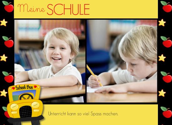 Fotobuch School (Fotobuch 282x205 Hardcover, Ec...