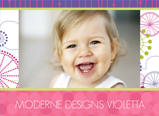 Fotobuch Moderne Designs Violetta (Fotobuch 127...